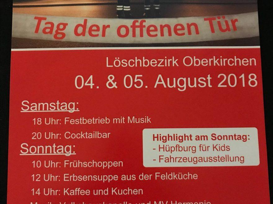 Löschbezirk Oberkirchen - Tag der offenen Tür